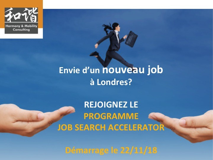 JOB SEARCH ACCELERATOR - Next session: 22 November 2018